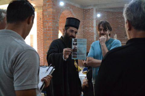 Епископ нишки Г.Г. Арсеније посетио наш храм