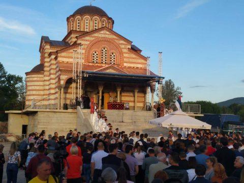 Храм Светог Василија Острошког у Нишу (видео)